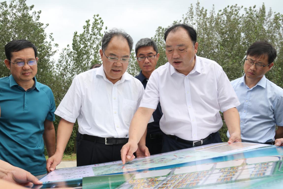 市委副书记赵振华调研我市重点港铁项目