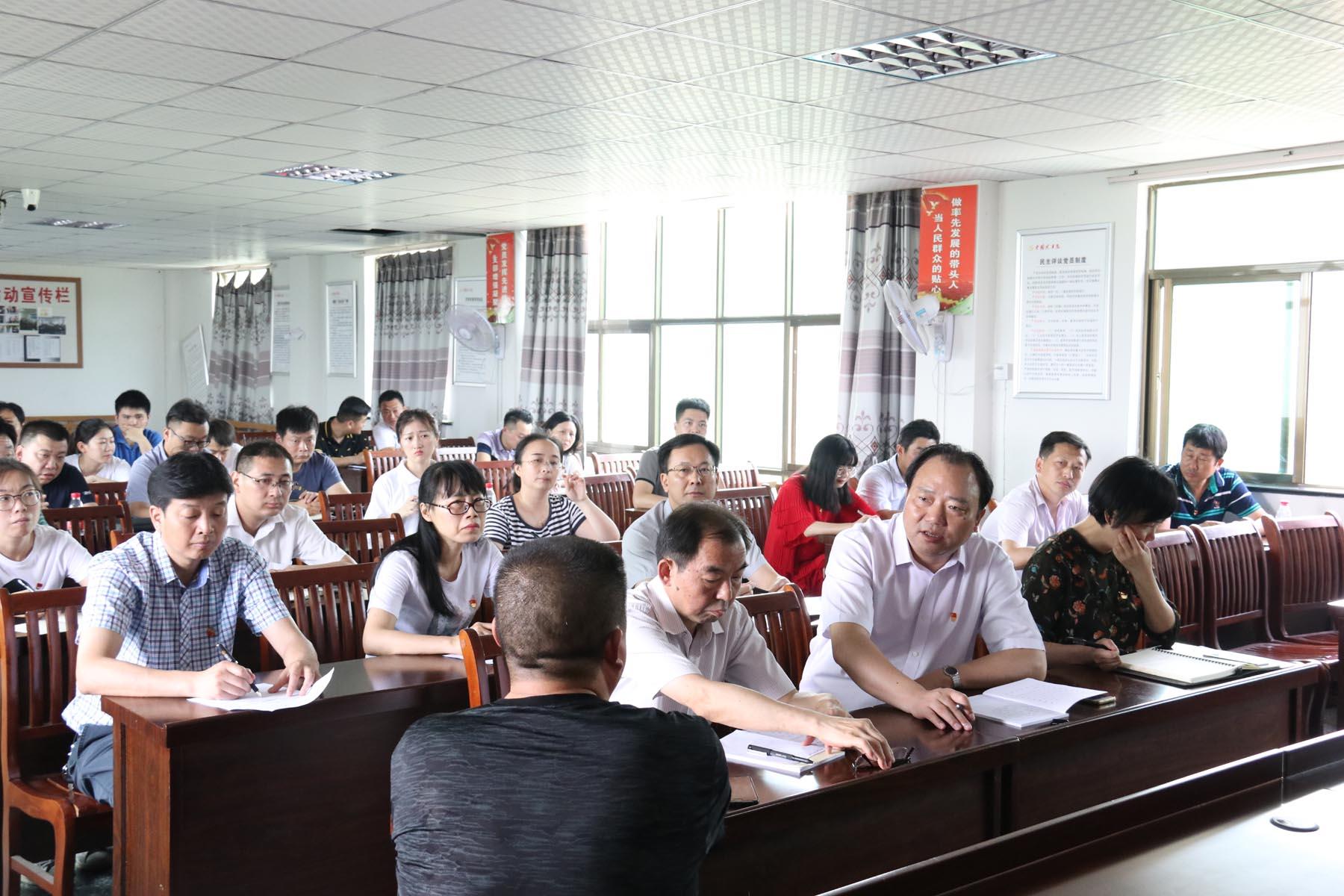 公司组织党员干部赴定点帮扶村开展节前慰问及主题党日活动